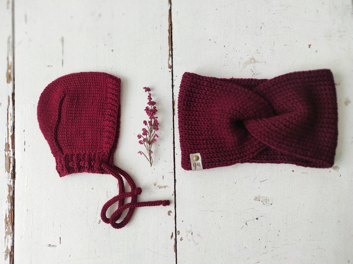 Adīta cepurīte - BORDO pavasaris