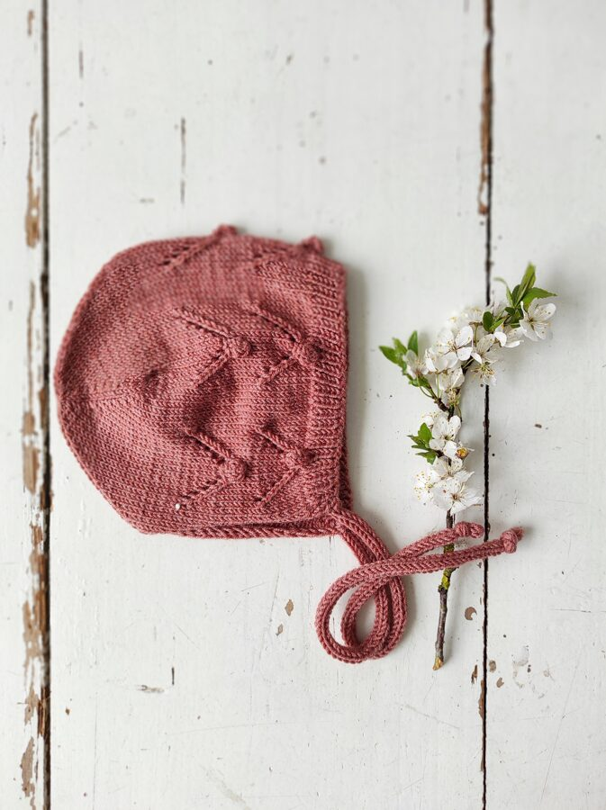 Adīta cepurīte - ROŽU
