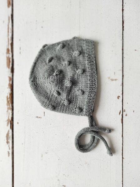 Adīta bumbuļu cepurīte - salviju ZAĻA