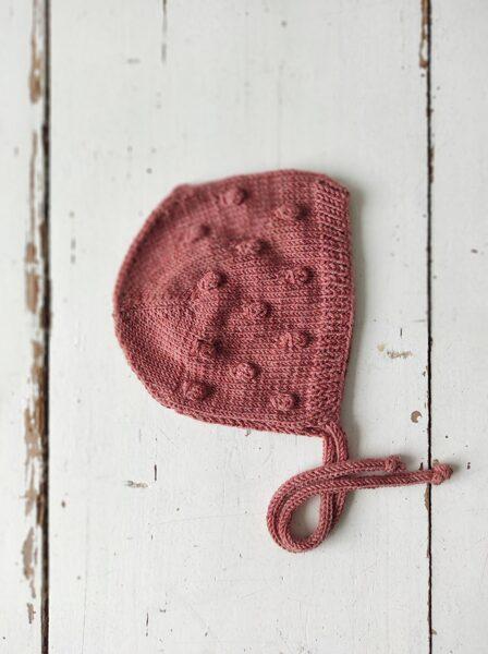 Adīta bumbuļu cepurīte - ROŽU